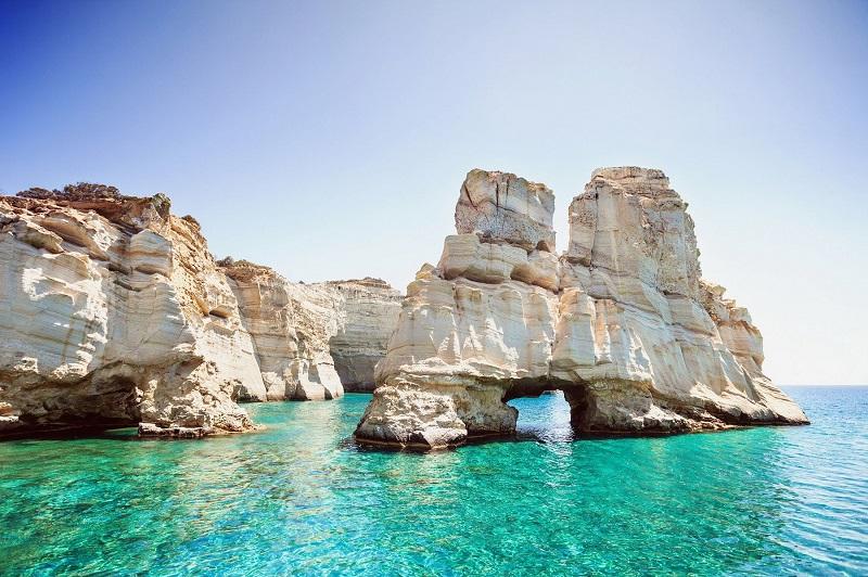 Kleftiko Beach, ilha de Milos