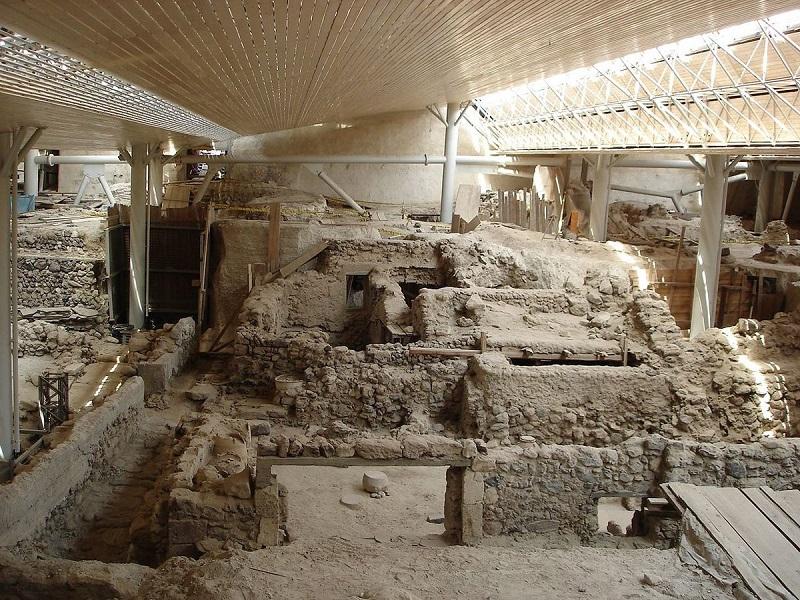 Sítio Arqueológico de Akrotiri