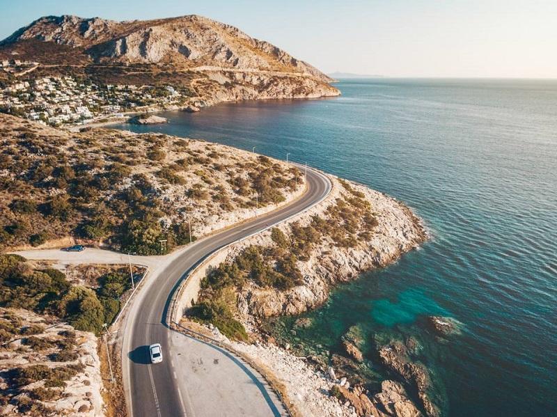 Carro na Grécia