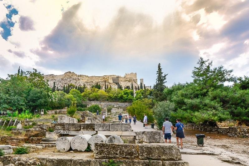 Atenas no verão