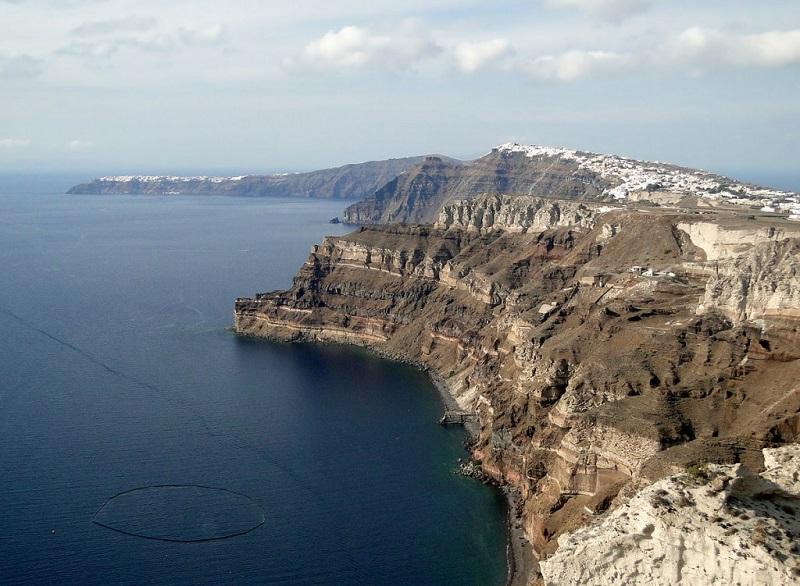 Caldera de Santorini