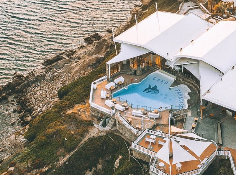 Cavo Paradiso Club em Mykonos