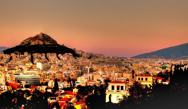 Noite na Grécia