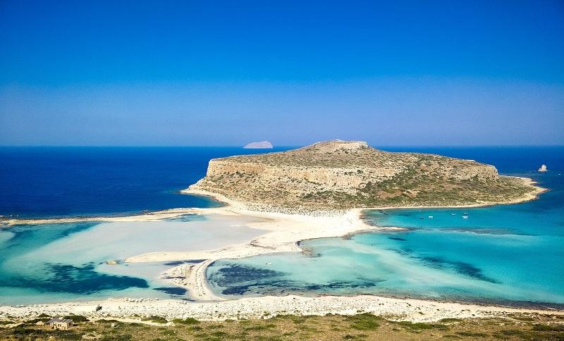 Balos Beach, ilha de Creta