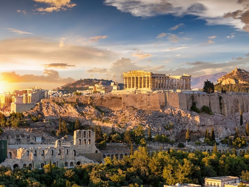 Acropolis em Atenas