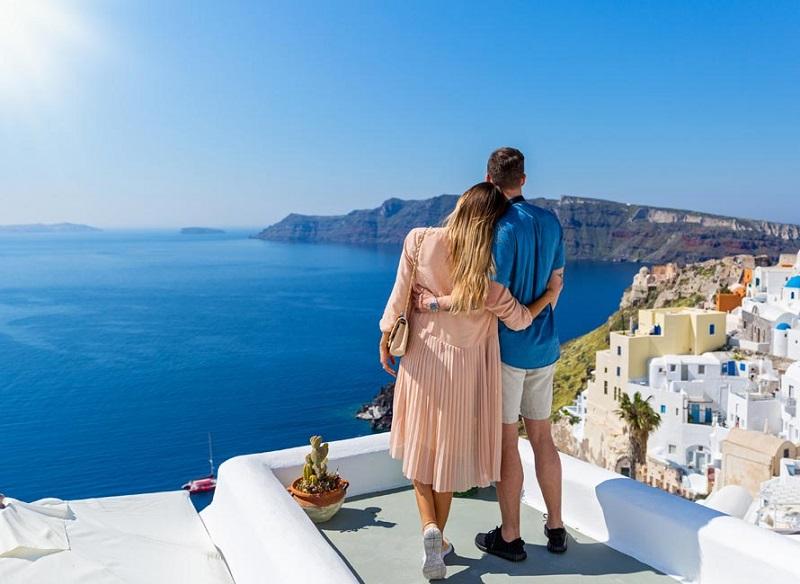 Santorini para casais