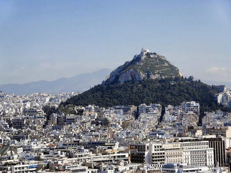 Monte Licabeto em Atenas
