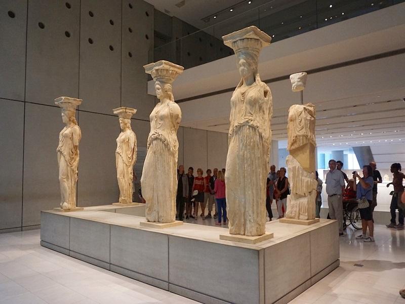 Museu da Acrópole em Atenas