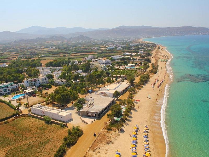 Plaka Beach, ilha de Naxos