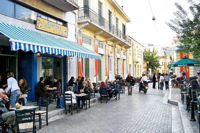 Thissio em Atenas