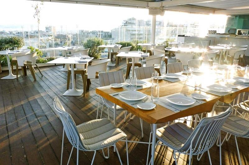 Restaurante Hytra em Atenas