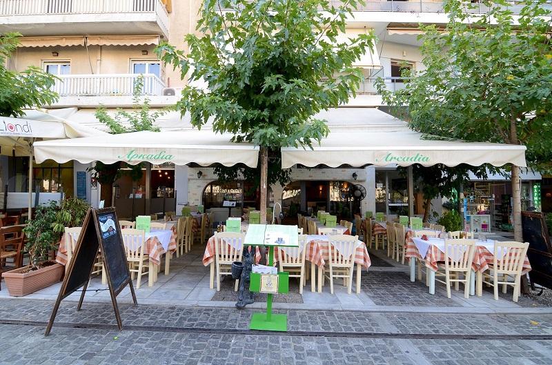 Restaurante Arcadia em Atenas