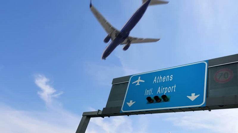 Voo para Atenas