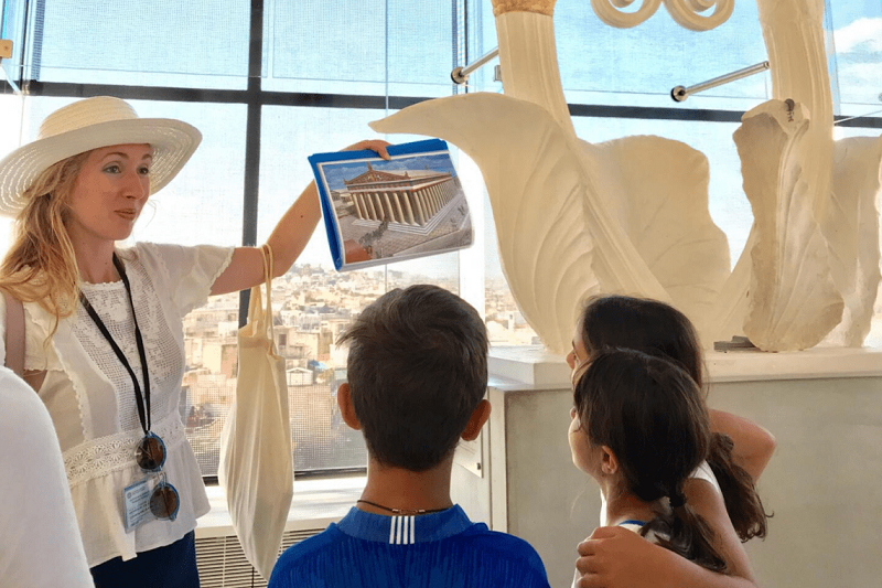 O que fazer com crianças em Atenas