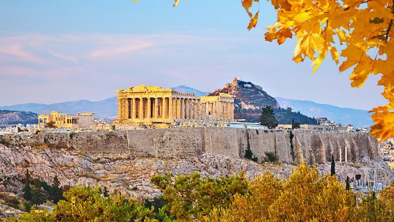 Clima e temperatura em Atenas