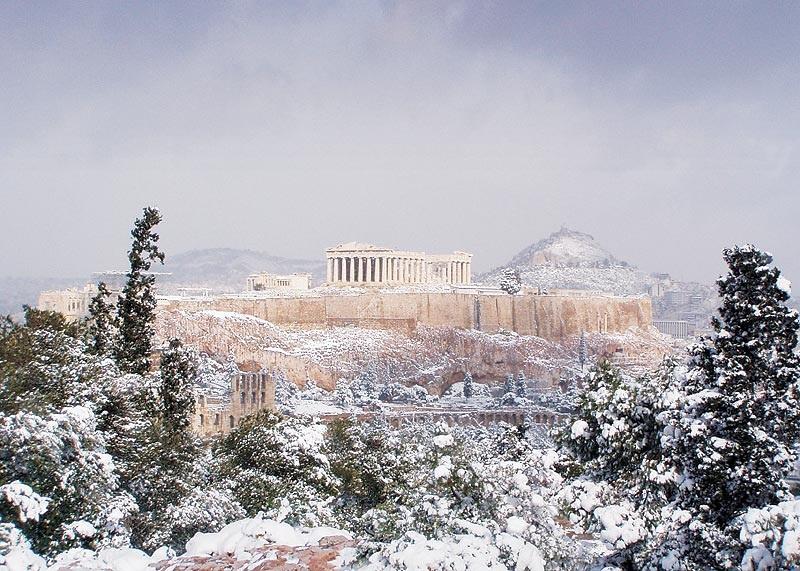 Como é e o que fazer no inverno em Atenas