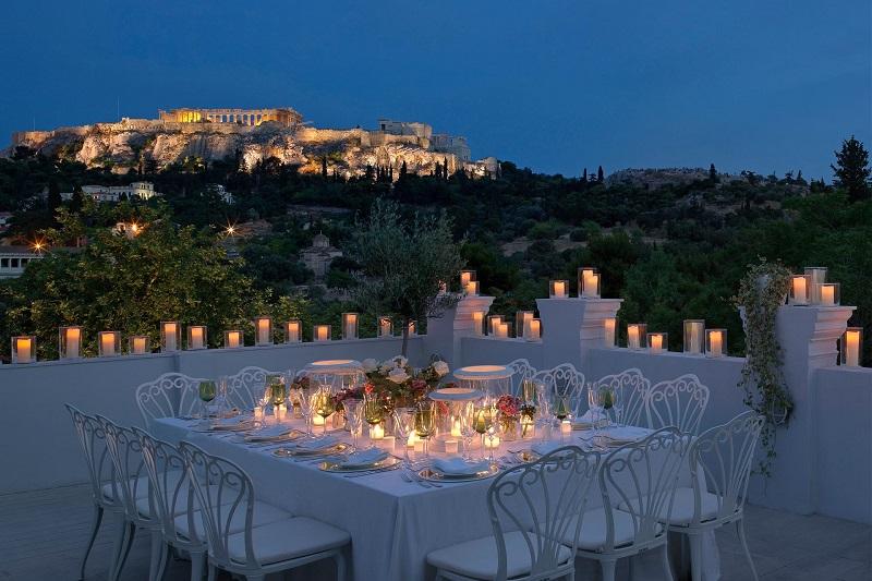 Restaurante Kuzina em Atenas