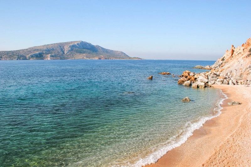 Praias perto de Atenas