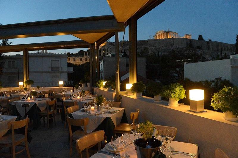 Restaurante Strofi em Atenas