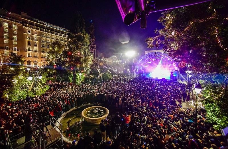 Festa de Ano-novo em Atenas