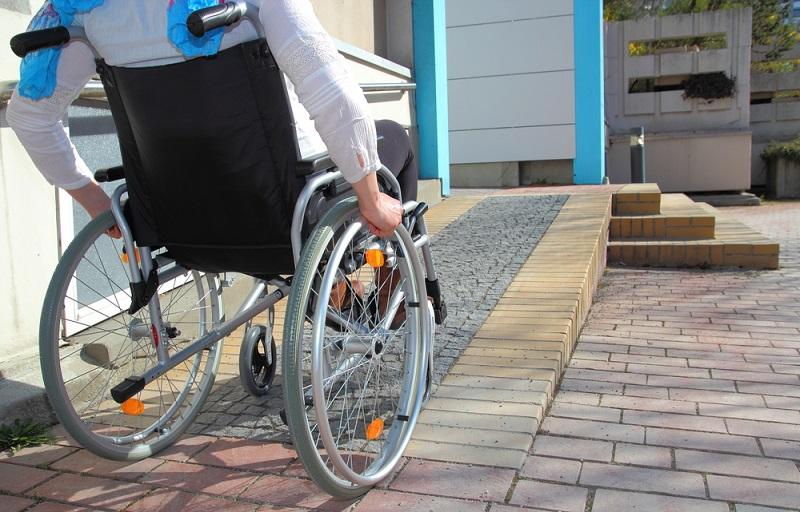 Deficientes físicos em Atenas