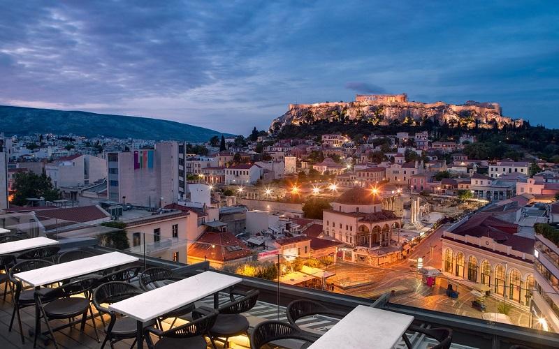 Noite em Atenas