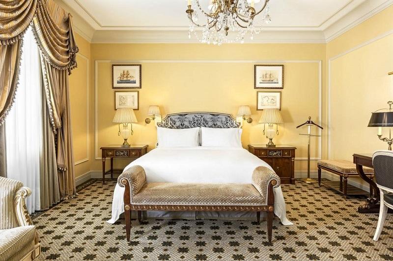 Quarto do Hotel Grande Bretagne em Atenas