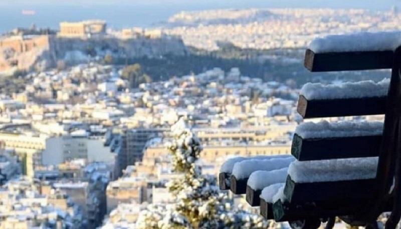 Quando neva em Atenas e nas ilhas da Grécia?
