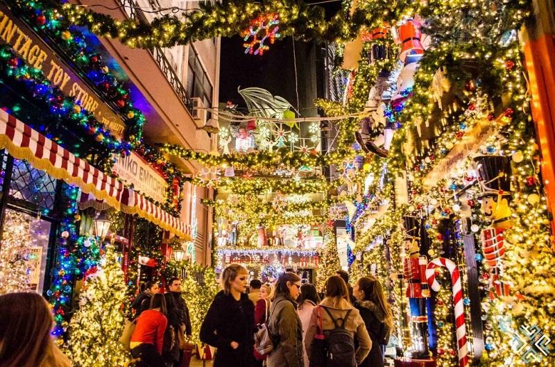 Natal em Atenas