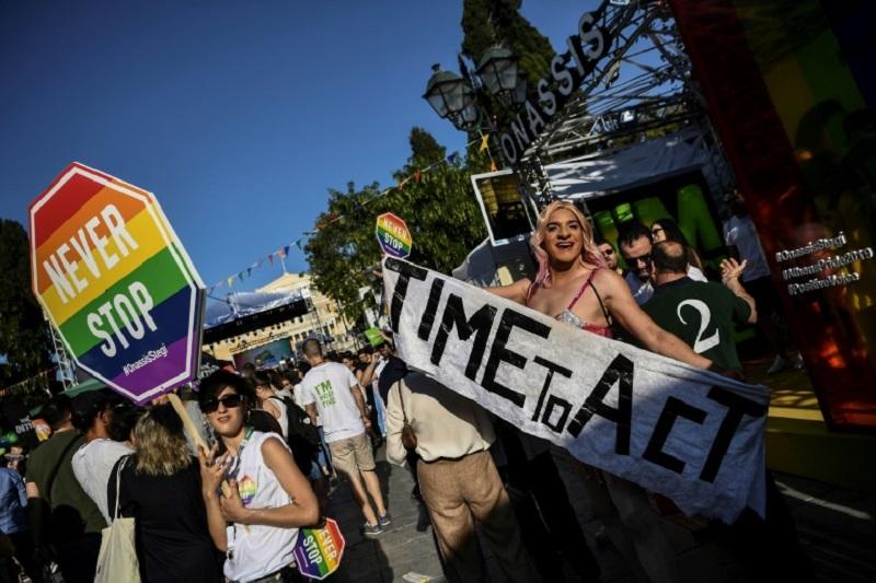 Parada gay de Atenas