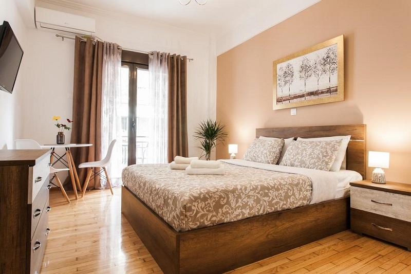 Quarto do Nicholas Point Apartments em Atenas