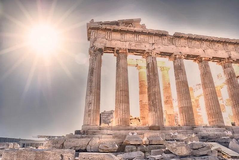 Panteão no verão