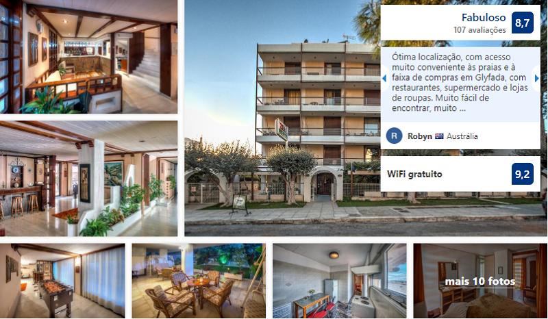 Zina Hotel Apartments em Atenas