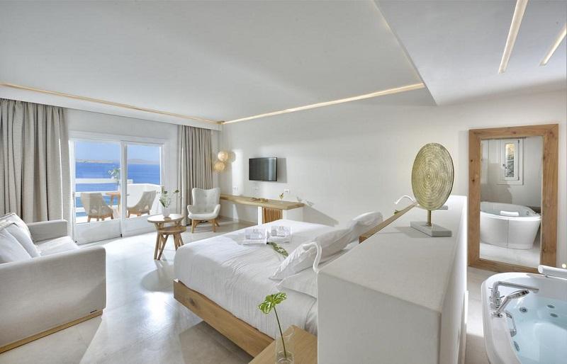 Quarto do Anax Resort and Spa em Mykonos