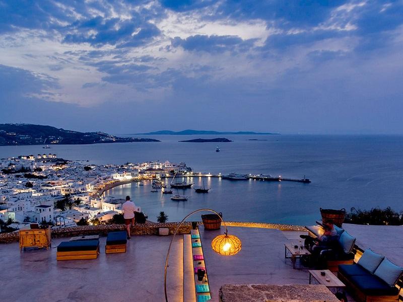 180° Sunset Bar em Mykonos