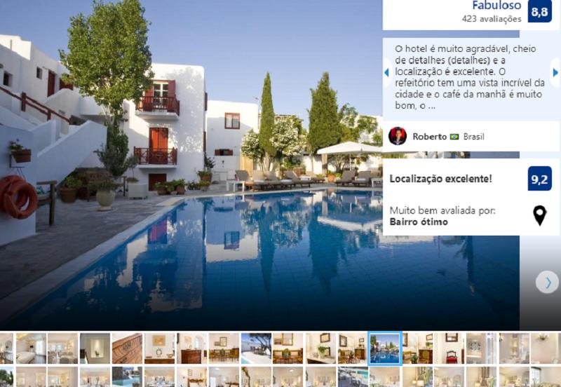 Despotiko Hotel em Mykonos