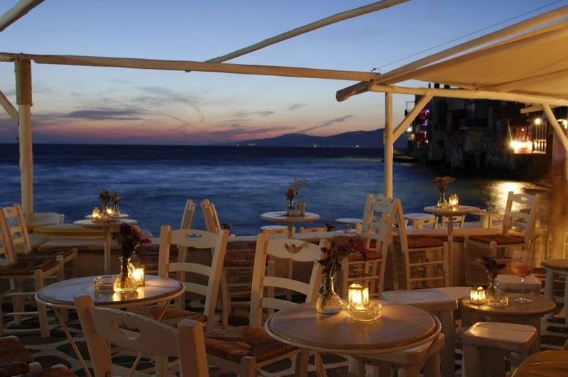 Bar Galleraki em Mykonos