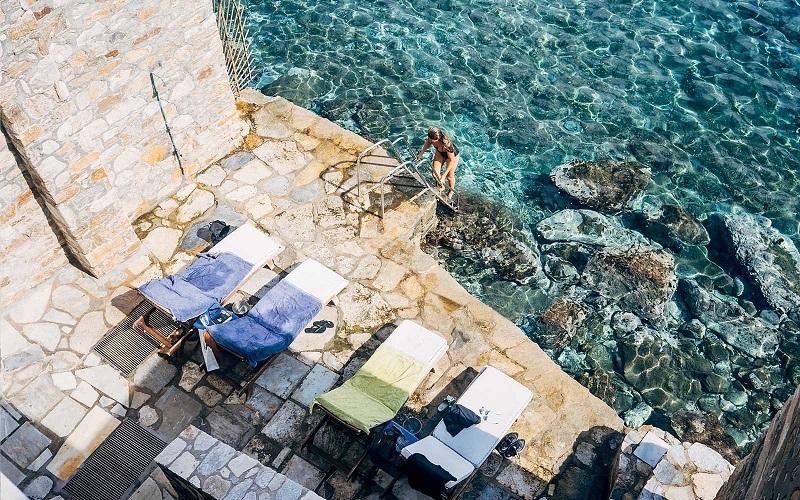 Hotel de luxo em Mykonos