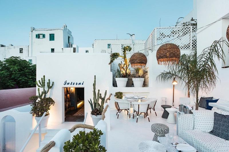 Restaurante Interni em Mykonos
