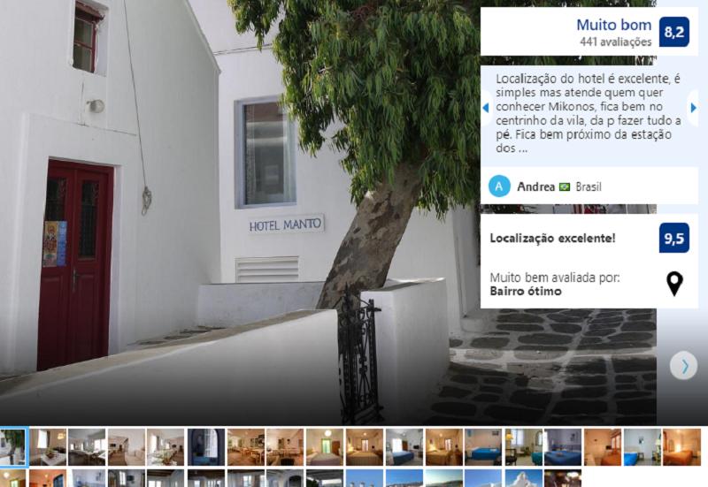 Hotel Manto em Mykonos