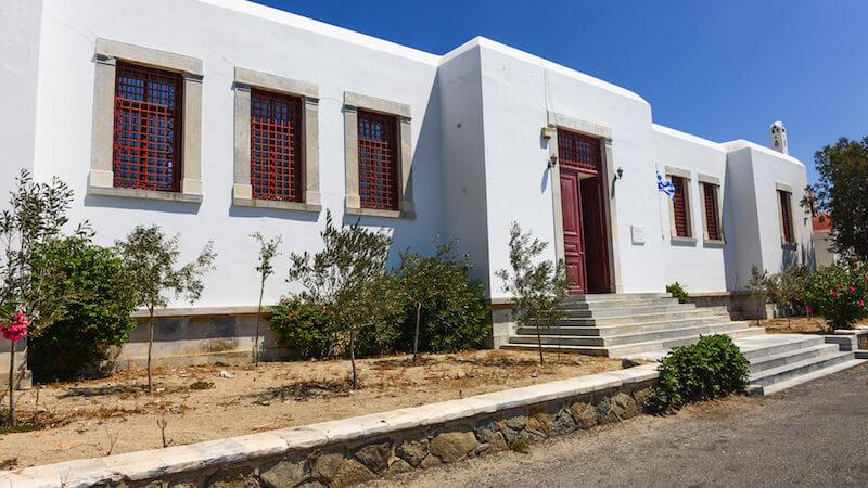 Exterior do Museu Arqueológico de Mykonos
