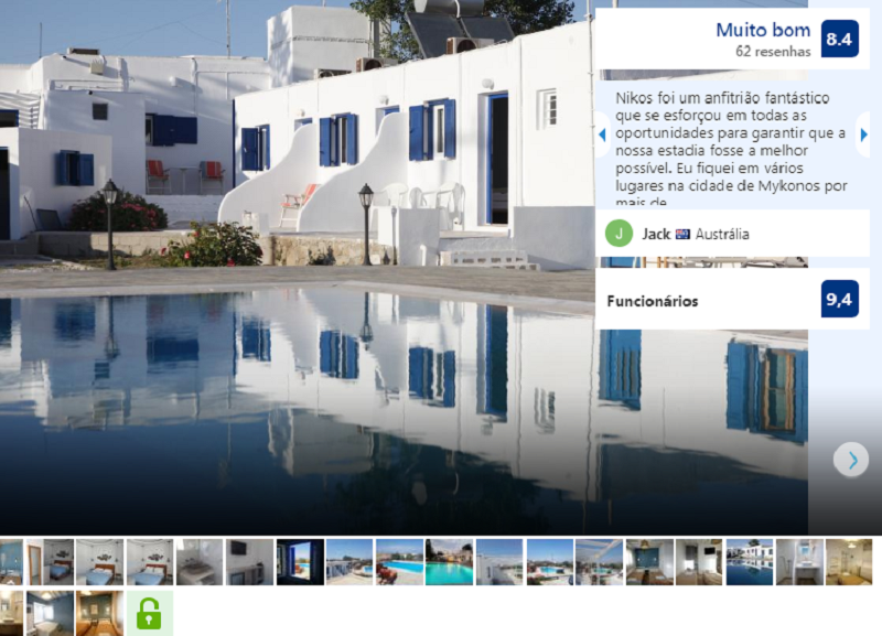 Nikos Room em Mykonos