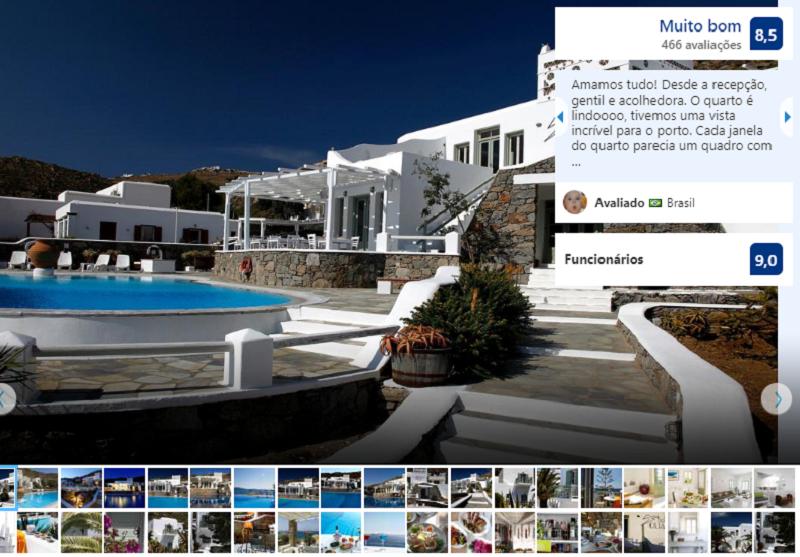 Olia Hotel em Mykonos
