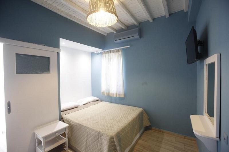 Quarto do Nikos Room em Mykonos