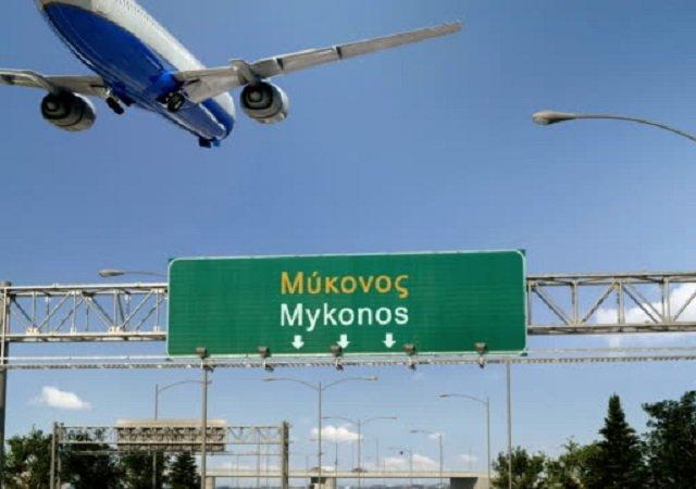 Quanto custa uma passagem aérea para Mykonos