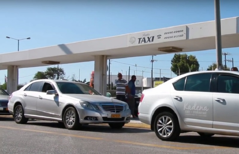 Como andar de Táxi/Uber em Mykonos