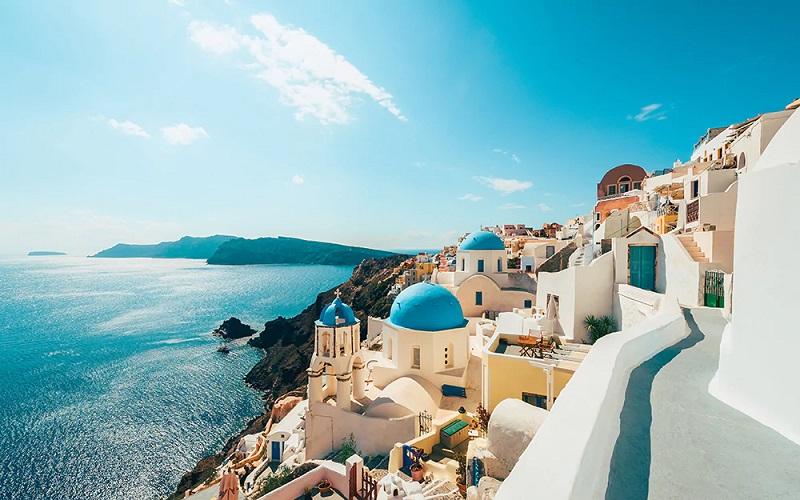 Verão em Santorini