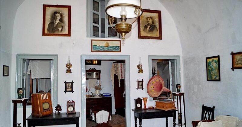 Museu Folklore em Santorini