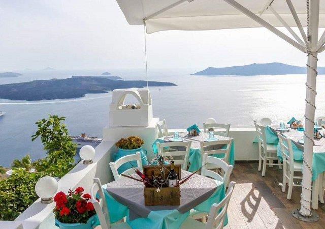 Melhores restaurantes em Santorini