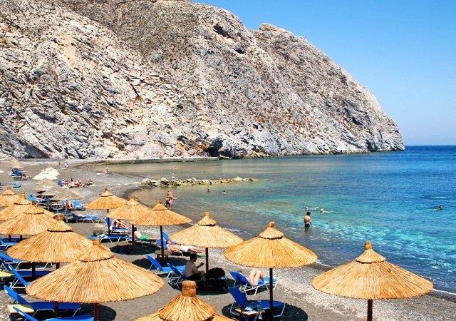 Melhores praias em Santorini